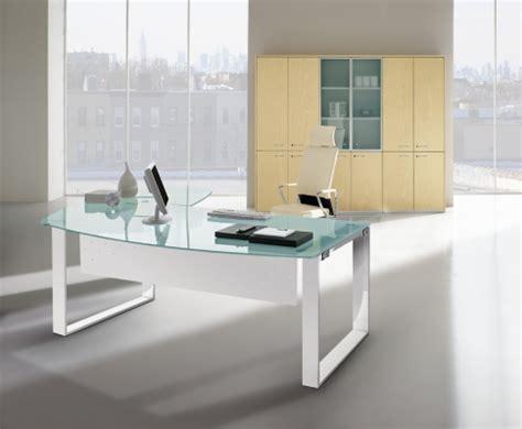 bureau design en verre attitudes bureaux produits bureaux de direction