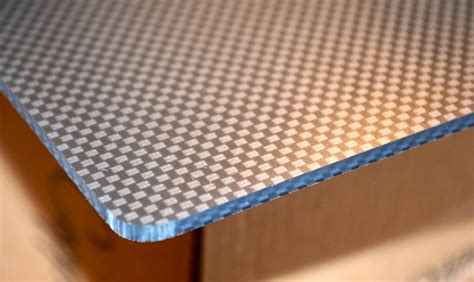 Acrylic Boat Dash by Acrylic Sheet With Carbon Fiber Finish