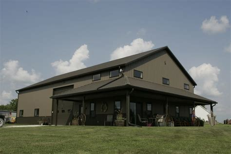 Shome® Shop + Home  The Ultimate Pole Barn With Living