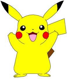 Pikachu Face Outline