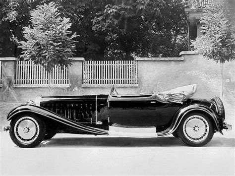 Weinberger Furniture by 1927 Bugatti Type 41 Royale Milestones