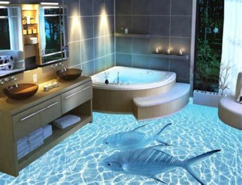 ocean epoxy bathroom floors