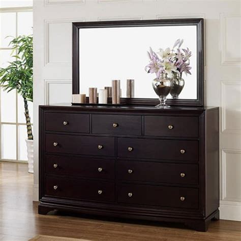 Cheap Bedroom Dresser by Cheap Black Dresser With Mirror Home Furniture Design