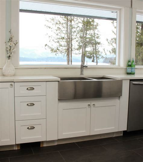 how to install farmhouse sink things to know about buying installing a stainless steel