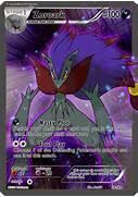 Zoroark Full art 3 by Xintetsu on DeviantArt  Shiny Zoroark Card