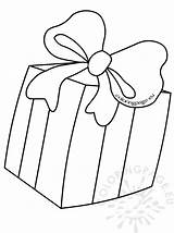 Box Gift Coloring Bow Pages Present Christmas Drawing Getdrawings Coloringpage Eu sketch template