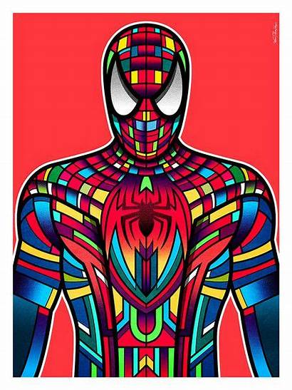 Superhero Spider Spiderman Van Superheroes Orton Hero