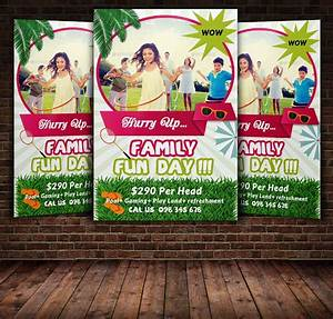 23 day care flyer templates free premium download With fun day poster template
