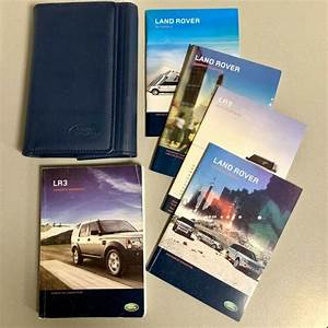 2008 Land Rover Lr3 Complete Operator Manual Guide W
