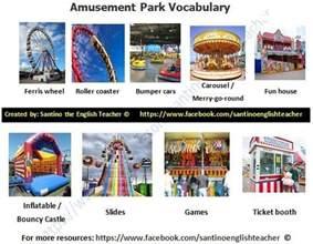 learning about amusement parks chestnut esl efl