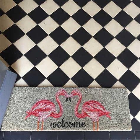 Flamingo Doormat by Flamingo Doormat At 163 15 Buy Free P P