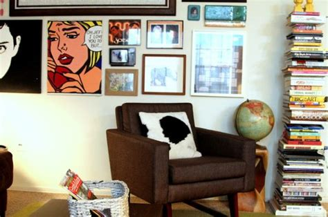 comic strip decor inspirations   contemporary home
