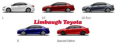 Toyota Trim Levels 2016 toyota corolla trim levels limbaugh toyota reviews