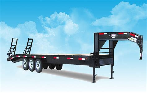Different Types And Main Structure Of Gooseneck Truck Trailer
