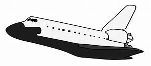 Space Shuttle Clipart Black And White (page 2) - Pics ...