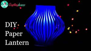 DIY Paper Lanterns Making Craft for Diwali Decoration ...
