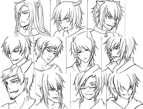 Cool Anime Hairstyles by Anime Hairstyles For Guys 486963 Jpg 800 215 613 Drawing