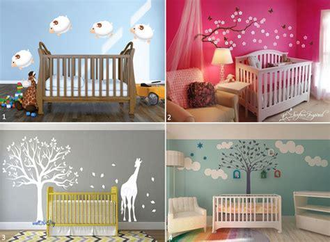 le pochoir mural chambre bébé personnalisez la déco sans