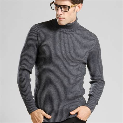 mens wool turtleneck sweater sweater turtleneck mens gray cardigan sweater