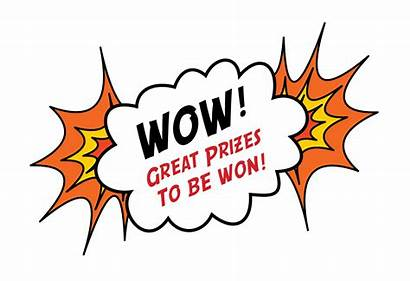 Prizes Clipart Win Participate Competition Games Word