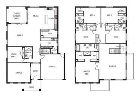 3 Bedroom Townhouse Plans Australia by Best 25 Australian House Plans Ideas On One