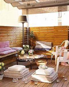 Terrassengestaltung Ideen Beispiele : terrasse modern gestalten deko elemente am boden die besten ideen f r terrassengestaltung ~ Frokenaadalensverden.com Haus und Dekorationen