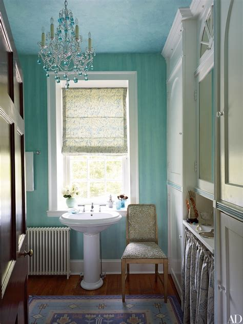 architectural digests  hot bathroom colors  ideas