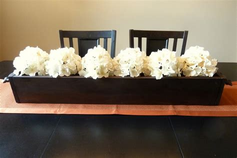 Everyday Kitchen Table Centerpiece Ideas - long dining room table centerpiece dining room decor ideas and showcase design