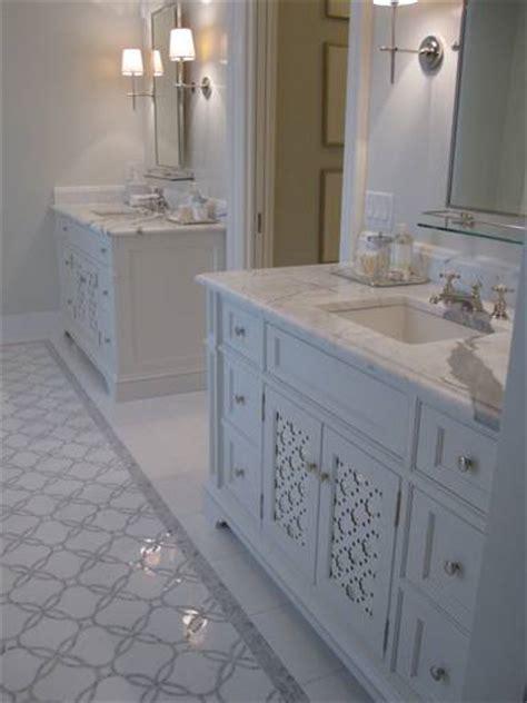 gray mosaic tile traditional bathroom phoebe howard