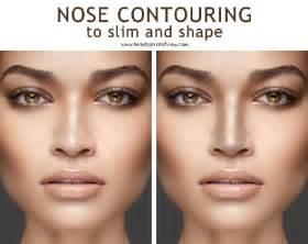 Как контурировать нос . Правила контурирования для уменьшения носа