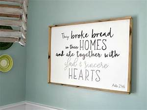 how to make a wood sign with a custom quote and wood frame With kitchen cabinets lowes with custom quote canvas wall art