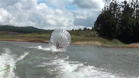 Boat Ball by Zorb Ball Behind Speedboat Youtube