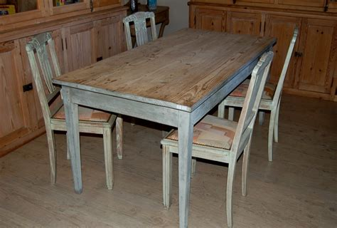 table de cuisine en bois decoantiq antiquites decoration table ancienne cruse