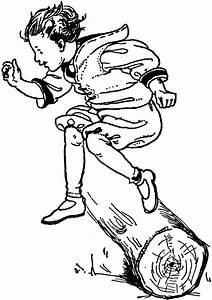 Boy Jumping | ClipArt ETC