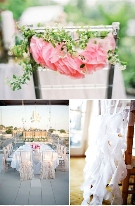 picks on paper decor inspiration for ceremony chairs