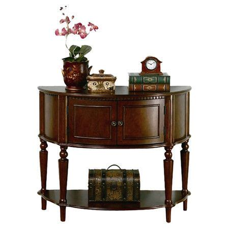 Classic Turned Wood Furniture by Pairing A Demilune Silhouette And Turned Legs This