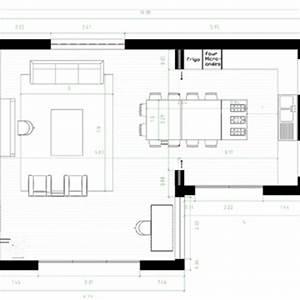 lovely amenager salon cuisine 25m2 11 amenagement salon With amenager cuisine salon 30m2