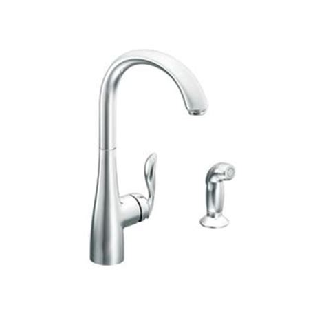 moen arbor kitchen faucet leaking faucet 7294c in chrome by moen