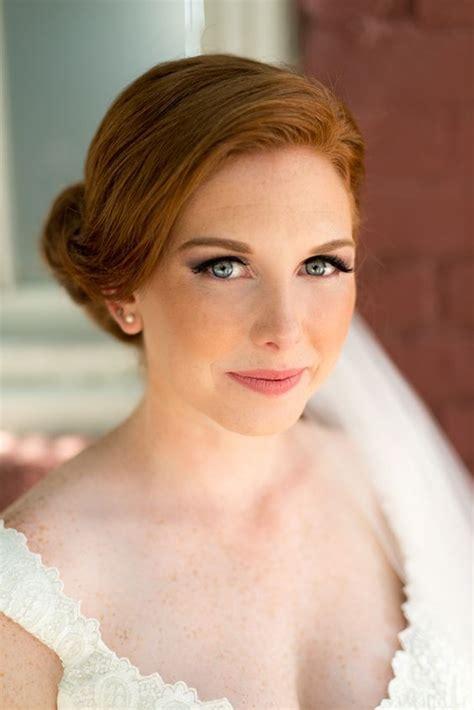 bridal makeup  redheads wedding makeup  wedding makeup redhead redhead makeup