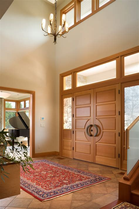 double entry doors  entry contemporary  double entry door area rug  fantastic viewpoint