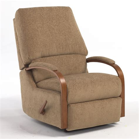 recliner rocker chair pike swivel rocking reclining chair by best home