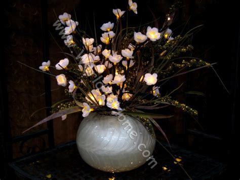small 19in 60 light white plum tree flower branch light