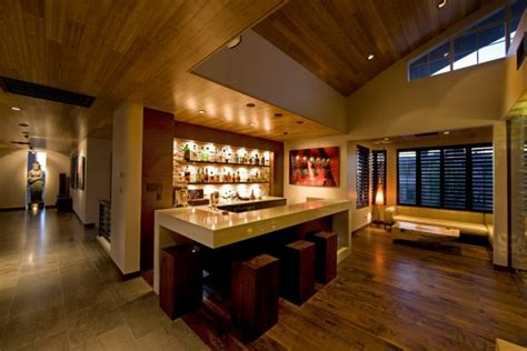 Contemporary Home Bar by 15 Majestic Contemporary Home Bar Designs For Inspiration