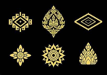 Thai Pattern Patterns Thailand Vecteezy Google Line