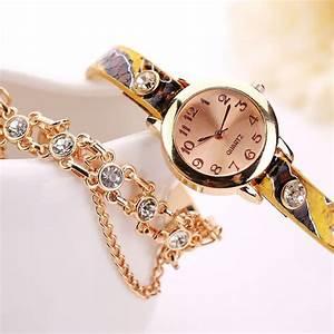 Bracelet Tendance Du Moment : montre bracelet chic tendance ~ Dode.kayakingforconservation.com Idées de Décoration