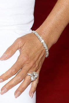 celine dion s engagement ring is a 4 5 carat asscher cut