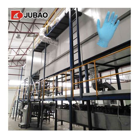 china disposable nitrile glove dipping machine