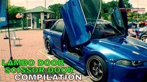 Cars With Scissor Doors : Lambo Door / Scissor Door Video Collection