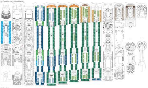 msc opera cabin layout msc preziosa deck plans diagrams pictures