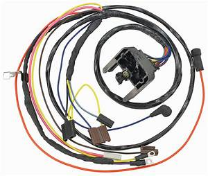 M U0026h Chevelle Engine Harness V8 Hei W  Gauges Fits 1969